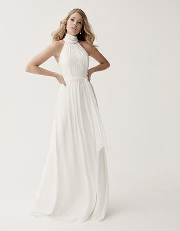SUSSEX - a floaty chiffon gown