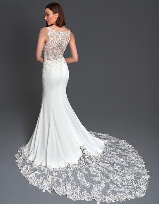 Thompson Sheath wedding dress back The Signature Collection