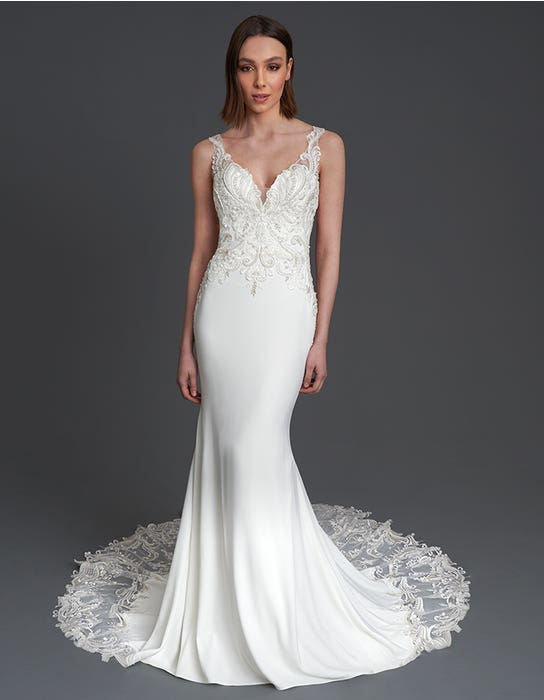 Thompson Sheath wedding dress front The Signature Collection