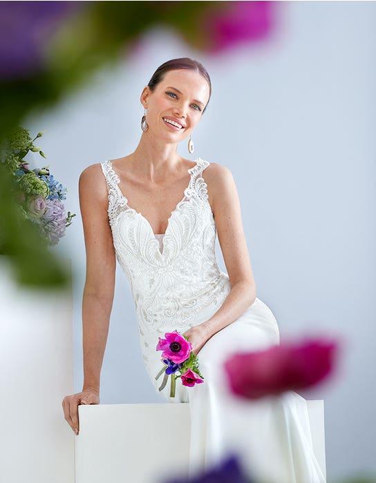 Thompson Sheath wedding dress front The Signature Collection edit