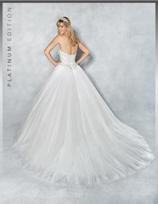 Tiana ballgown wedding dress back Viva Bride