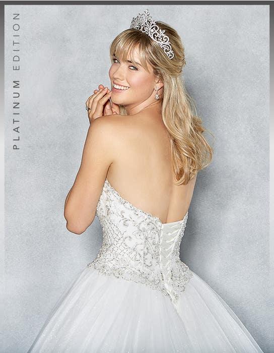 Tiana ballgown wedding dress crop back Viva Bride