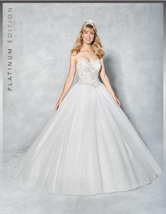 Tiana ballgown wedding dress front Viva Bride