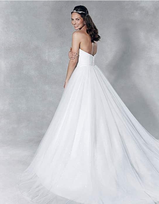Titania ballgown wedding dress back Viva Bride