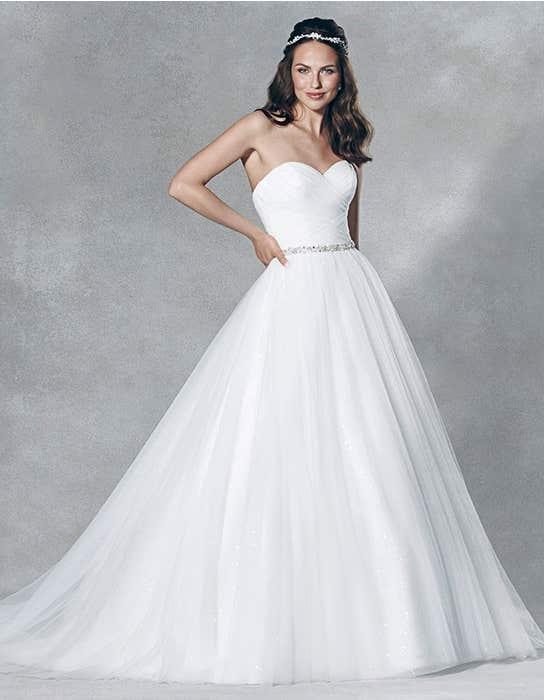 Titania ballgown wedding dress front Viva Bride