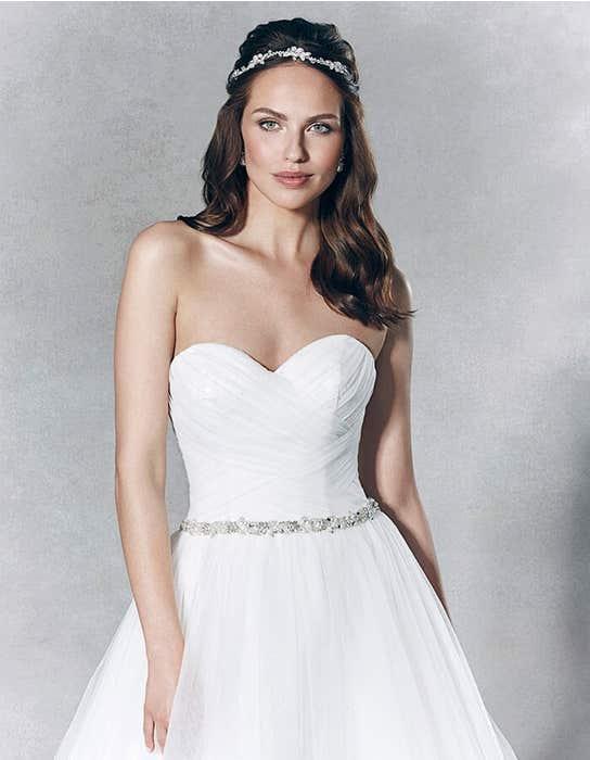 Titania ballgown wedding dress front crop Viva Bride