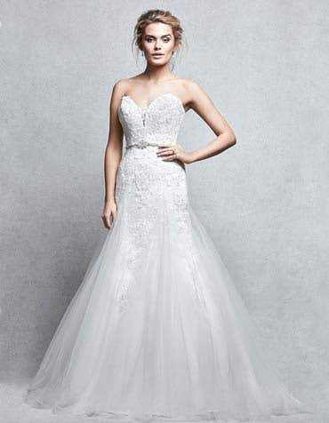 VERITY - a delicate dreamy tulle gown