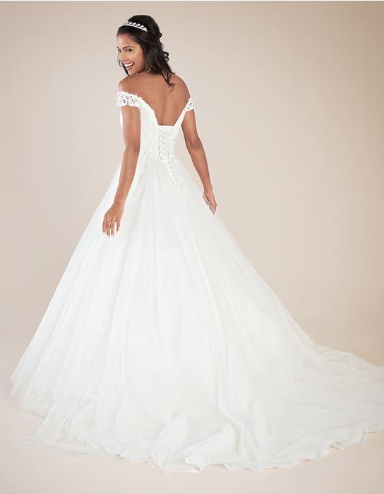 Violette ballgown wedding dress back Viva bride