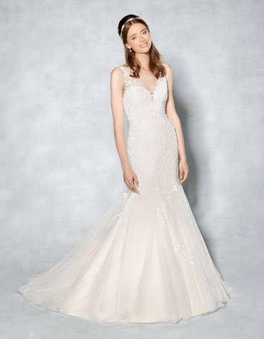 WHITNEY - une robe sirène étincelante intemporelle