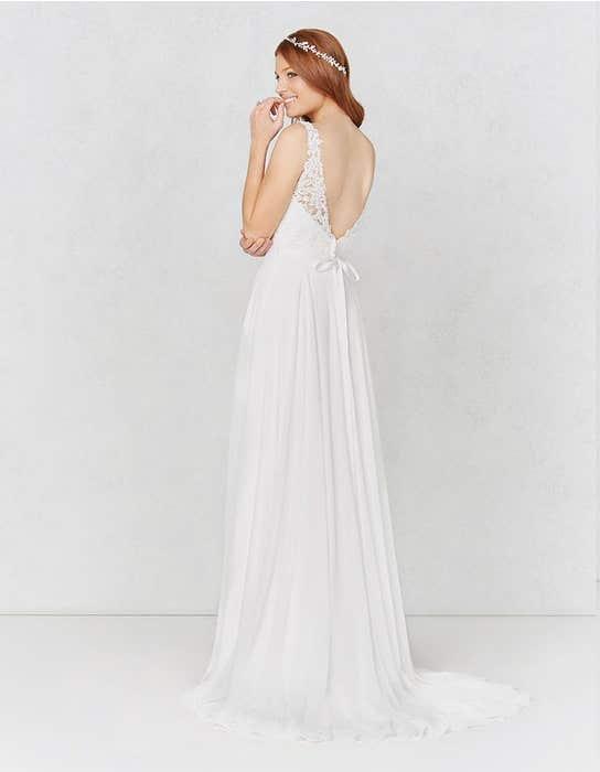 Winter aline wedding dress back Heidi Hudson
