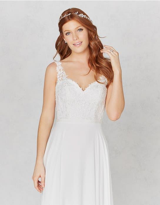 Winter aline wedding dress crop front Heidi Hudson