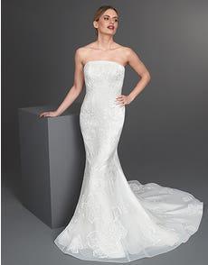 Zita - das ultimative, florale Kleid im Fishtail-Design