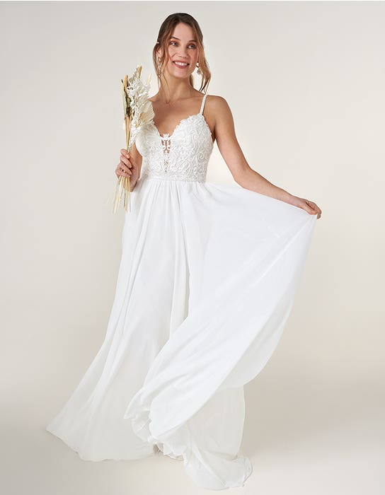adie aline wedding dress front heidi hudson