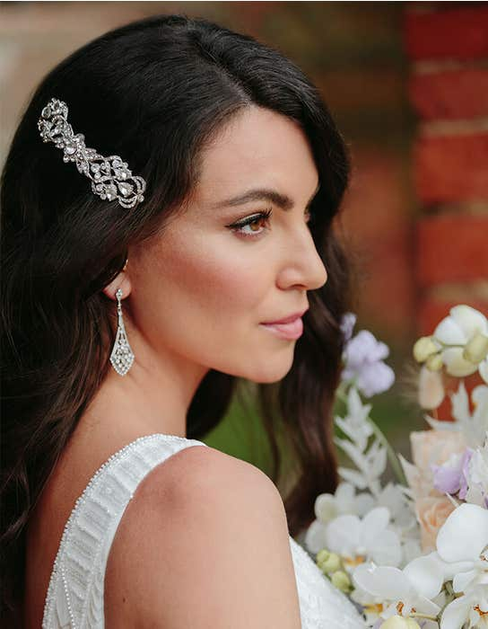 alpha hair comb wedding dress edit amixi