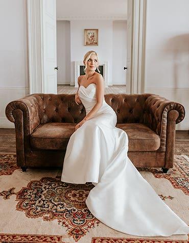 Annette - Een vormende trouwjurk