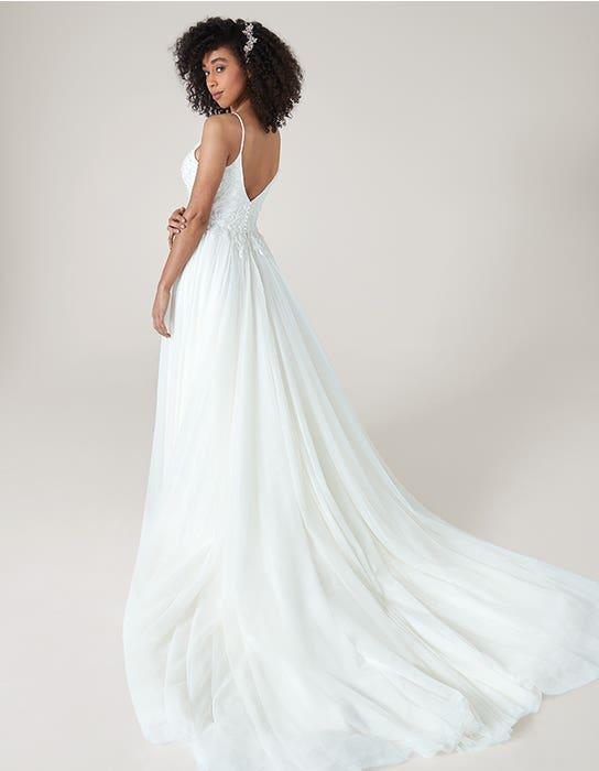 ariella ballgown wedding dress back heidi hudson