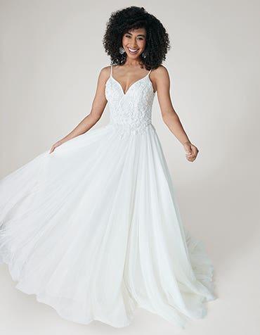Ariella - a modern beaded ballgown