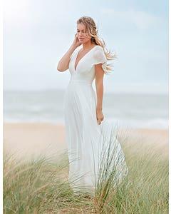 ASHLEY - ein verträumtes Boho-Kleid mit Engelsärmeln