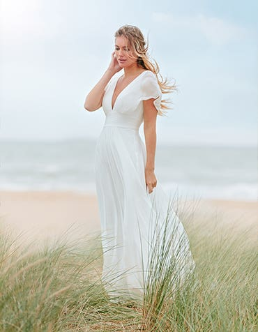 ASHLEY - une robe trapèze boho