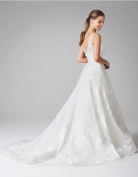 aster aline wedding dress back anna sorrano