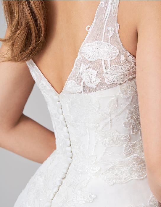 aster aline wedding dress back detail anna sorrano