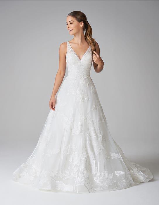 aster aline wedding dress front anna sorrano