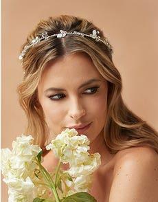 AUTUMN - un bandeau de mariée boho