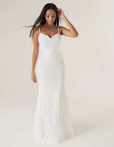 Baxter - a stunning boho wedding dress