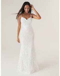 Baxter - a stunning boho wedding dress