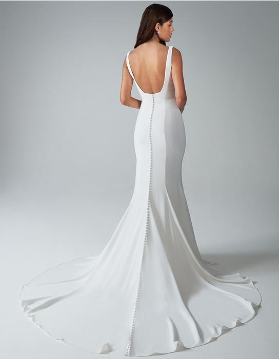 bekkie sheath wedding dress back anna sorrano