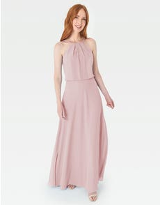 BELLA - een sierlijke blouson top met een stijlvolle A-lijn rok die super flatterend is
