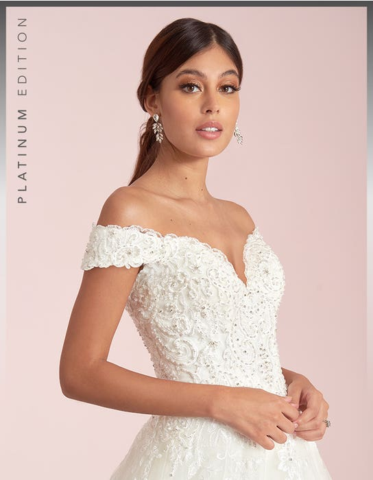 Brilyn - an off the shoulder A-line | WED2B