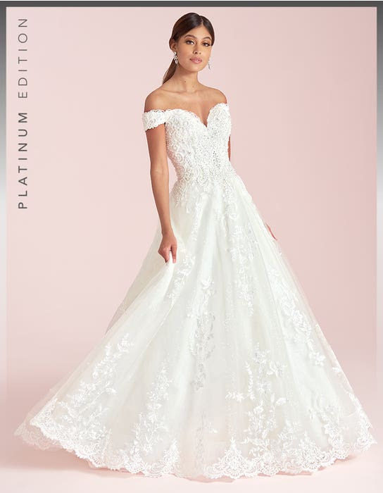 brilyn aline wedding dress front viva bride