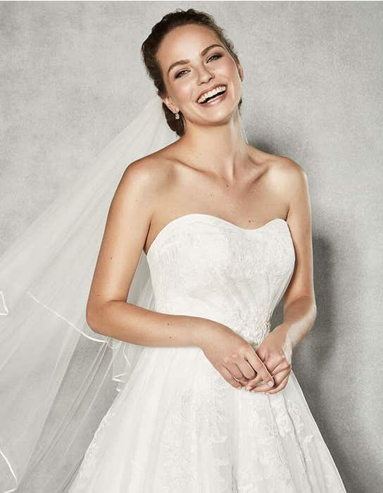 BROOKE - a romantic strapless gown | WED2B