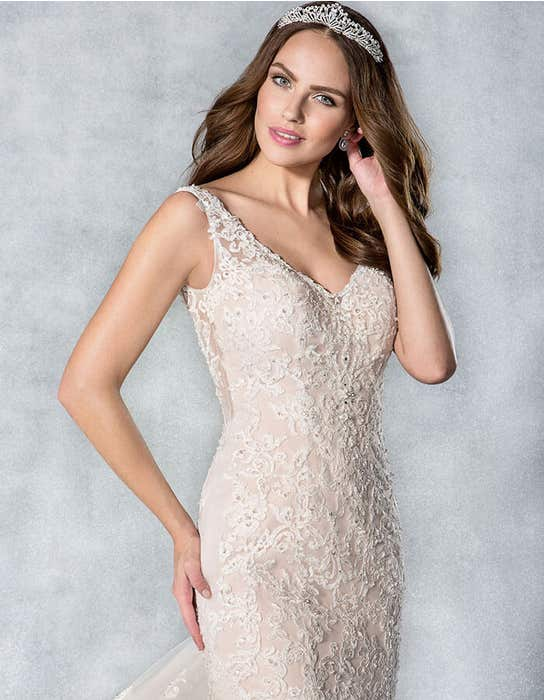 CAMILLE - a beaded lace fishtail | WED2B