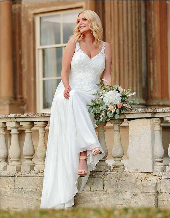 cassia aline wedding dress front edit bellami