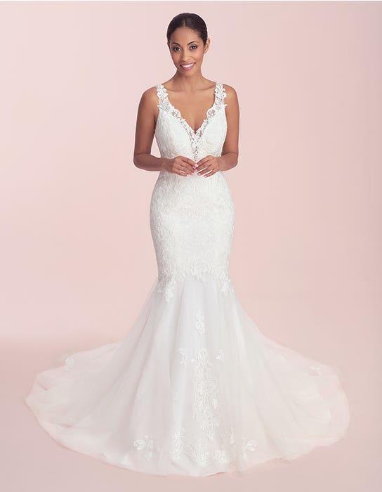 catia fishtail wedding dress front viva bride