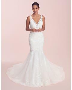 Catia - een trendy trouwjurk