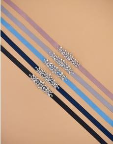 CHARM - sierlijke riem met kristallen voor bruidsmeisjes