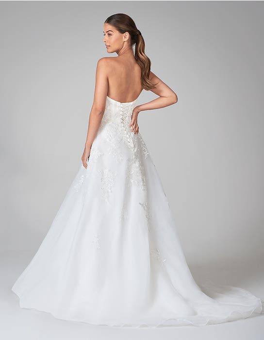cole aline wedding dress back anna sorrano