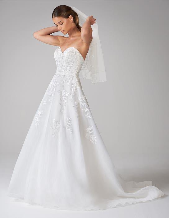 cole aline wedding dress front anna sorrano