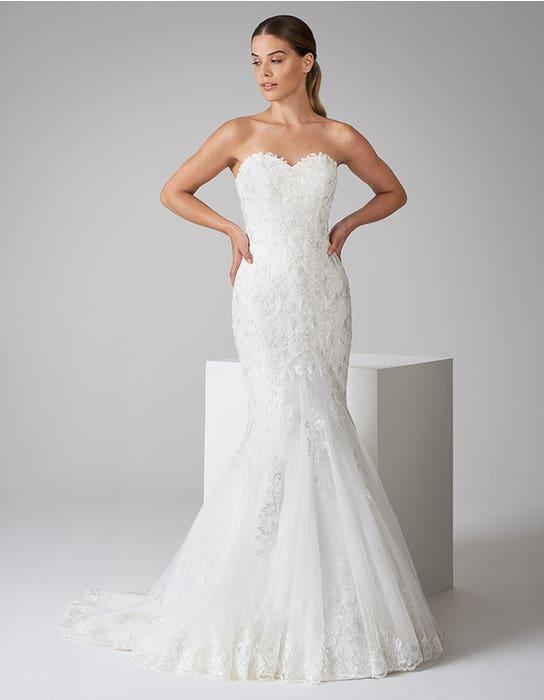 constantina fishtail wedding dress front anna sorrano