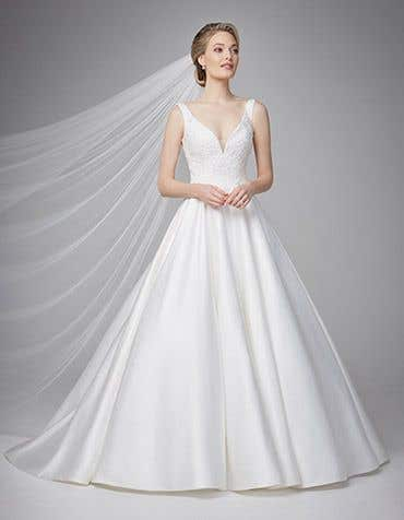 45dcaf0058 Plain & Simple Wedding Dresses - WED2B
