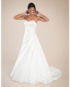 Clare aline wedding dress front Anna Sorrano th