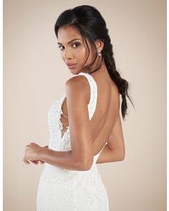 Odyssey sheath wedding dress back crop Signature th