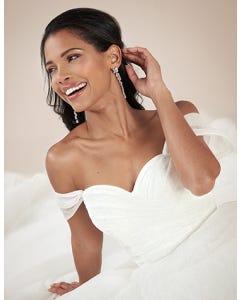 Star blush aline wedding dress front crop Viva Bride th