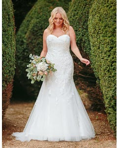 elba fishtail wedding dress anna sorrano th