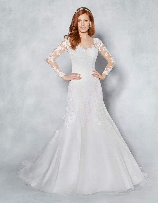Wedding Dress With Sleeves.Lucy