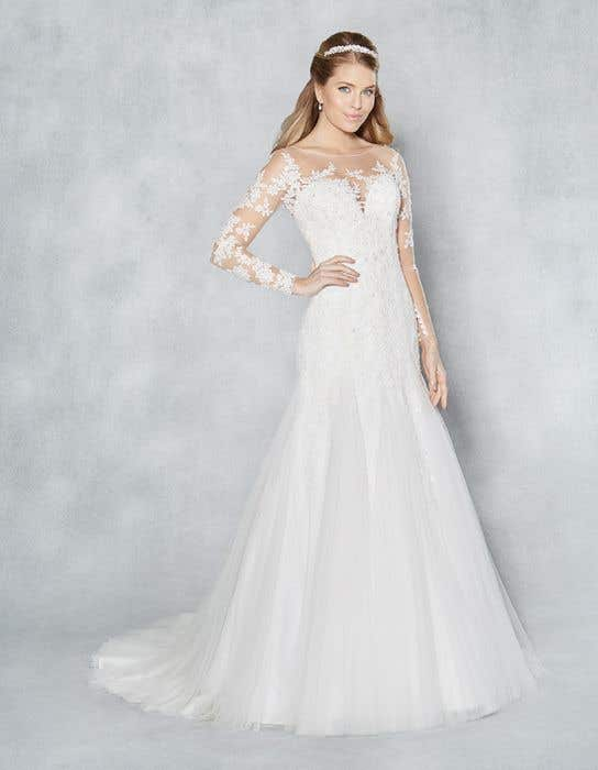 Wedding Dress With Sleeves.Mackenzie