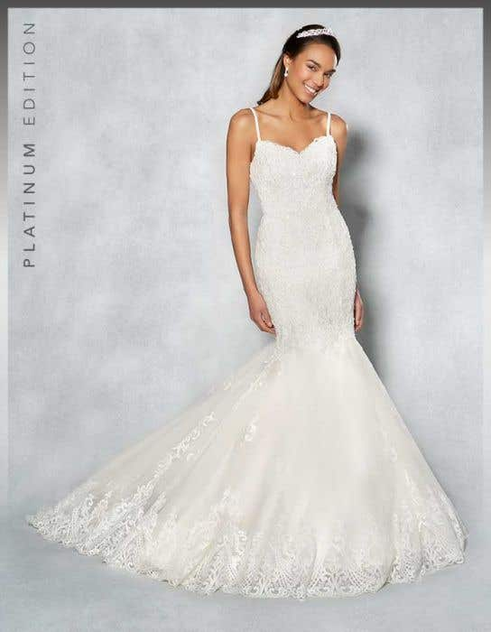 Mermaid Wedding Dress.Piper